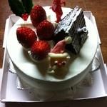 11006843 - クリスマスケーキです♪