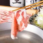 ぶた福 - 料理写真:しゃぶしゃぶ
