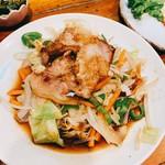 とんかつ 諏訪 - 野菜炒め 豚肉バージョン
