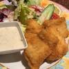 味工房 いわさ - 料理写真:平目のフライ&タルタルソース
