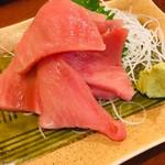 丸八寿司 - 料理写真:鮪中落ち  脂のってます