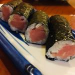 丸八寿司 - 中落ち鮪の鉄火巻
