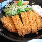 レストラン はる乃 - 料理写真:トンカツ