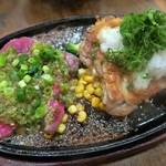 ふらんす亭 - ねぎ塩焼き&チキンステーキ¥1530