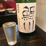 おでんの丸忠 - 鯉川特別純米