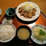 110076008 - 日替りの鯨の天ぷら定食