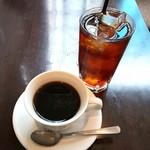 ビストロ ワイン カフェ ハース - ドリンク:ホットコーヒー、アイスティー