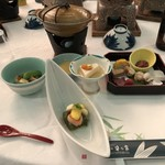 菊池笹乃家 - 料理写真:お造り他