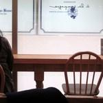 ア・ラ・カンパーニュ - 私は男一人だったんで女性客の多いテーブル席は避け窓際のカウンター席で食事です。