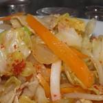 ラーメン剣信 - 野菜