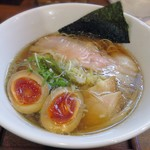110083860 - 【醤油しき麺 + 濃厚玉子】¥700 + ¥100