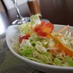 トラットリア ボスコ - セットのサラダです。