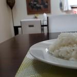 トラットリア ボスコ - セットのご飯です。