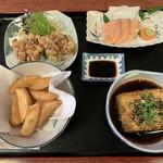 恵比須 - 料理写真:だれやめセット 生ビールとセットで1000円