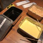 110086314 - 二度漬け禁止のソース、ねり粉、パン粉