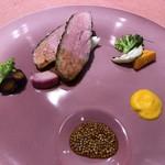 110086535 - イベリコ豚のグリエ-蕗の薹のソース