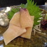 丸忠かまぼこ店 - ミル貝刺身