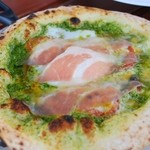 イチリン カフェ - マルゲリータ ジェノベーゼ