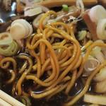 中華そば 三丸三 - 麺アップ