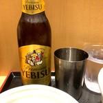 そばいち - ヱビスビール 小瓶