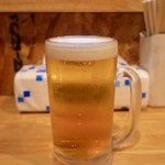 たこ焼き道場 学 - ビール(モルツ) 400円
