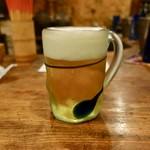 うりずん - [2019/05]生ビール・オリオン(648円)