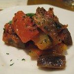 味倶楽部 月家 - お通しはラタトゥウユ。有機野菜がおいしい♪