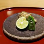かまくら和久 - 焼きもの:カマスと椎茸