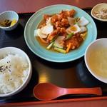 中華料理 鳳来 - 料理写真:酢豚定食