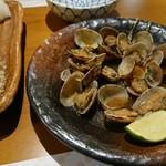 110113181 - 1903_Tenjin Japanese Restoran-天神-_アサリバター炒め@68,000Rp