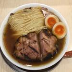 110115525 - 稲庭中華そば(肉)大盛!