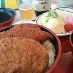 敦賀ヨーロッパ軒 - 料理写真:『ミックス丼』