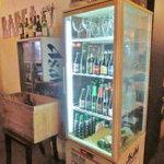 BARCA - 店内冷蔵庫にはベルギービールが色々あります