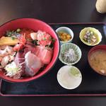 藤浪 - 海鮮丼 普通盛 2,000円
