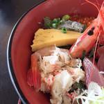 藤浪 - 海鮮丼 アップ