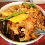 中華料理 八戒 - 夏野菜&海老