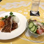 スパイラルカフェ - 〈2019年6月〉薩摩地鶏のグリル マスタードソース 1,390円(税込)
