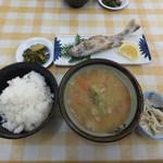 11013139 - 天然猪汁定食 1050円