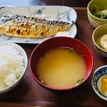 たのし家 - 焼き鯖定食