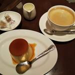 110134821 - 百年プリンとコーヒー