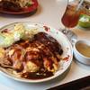 ミスターワイズマン - 料理写真:ハンバーグとオムライス  Mサイズ  1,350円