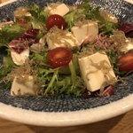 九州黒太鼓 - 脂肪肝用お豆腐サラダ!