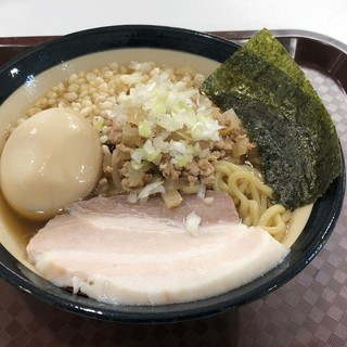 瀬良垣食堂 - 料理写真:飛魚琉球麺煮玉子付き750円