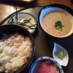 日本料理 筑膳 - じねんじょ麦とろろご飯