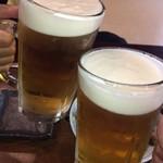 110148570 - 文化財にカンパチ☆                       今までの人生で一番に美味しい生ビール