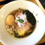 麺'sキッチン RIRI - 味玉金煮干しそば 930円
