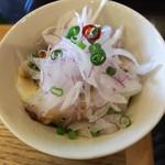 麺'sキッチン RIRI - ミニピリ辛水餃子 230円