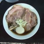 110149130 - カキ正油らぁ麺+チャーシュー