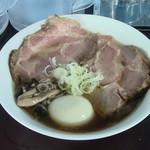 110149159 - カキ正油らぁ麺+チャーシュー