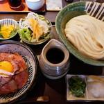 110149416 - ローストビーフ丼セット